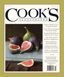 Cook's Illustrated Magazine, Sep/Oct 2016