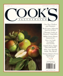 Cook's Illustrated Magazine, Sep/Oct 2018