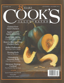 Cook's Illustrated Magazine, Sep/Oct 2019
