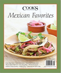 Cook's Illustrated Magazine Special Issue: Mexican Favorites (2012)