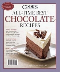 Cook's Illustrated Magazine Special Issue: All-Time Best Chocolate Recipes (2015): Special Collector's Edition