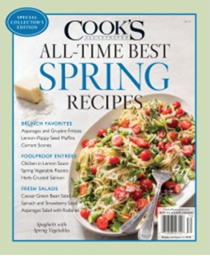 Cook's Illustrated Magazine Special Issue: All-Time Best Spring Recipes (2018): Special Collector's Edition