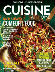 Cuisine at Home Magazine, Sep/Oct 2018 (#131)