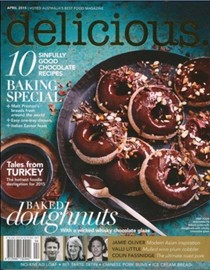 Delicious Magazine (Aus), April 2015: Baking Special