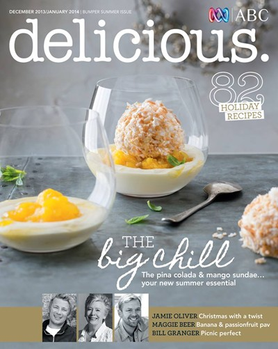 Delicious Magazine (Aus), Dec 2013/Jan 2014: Bumper Summer Issue