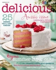 Delicious Magazine (Aus), February 2012: Aussie Issue