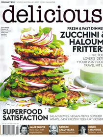 Delicious Magazine (Aus), February 2017 (#167): The Health Issue