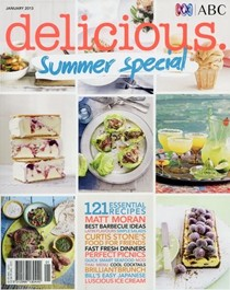 Delicious Magazine (Aus), January 2013: Summer Special