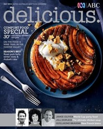 Delicious Magazine (Aus), July 2014: Comfort Food Special
