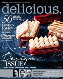 Delicious Magazine (Aus), March 2015: Design Issue