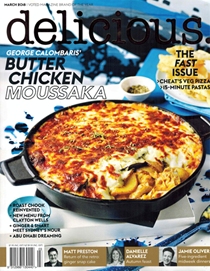 Delicious Magazine (Aus), March 2018 (#179): The Fast Issue