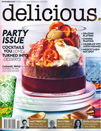 Delicious Magazine (Aus), November 2018 (#187): Party Issue