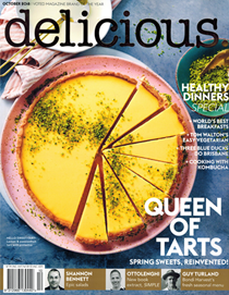 Delicious Magazine (Aus), October 2018 (#186): Healthy Dinners Special