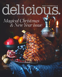 Delicious Magazine (UK), December 2016: Magical Christmas & New Year Issue