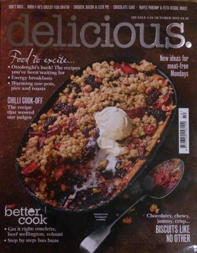 Delicious Magazine (UK), October 2015