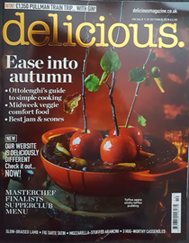 Delicious Magazine (UK), October 2018