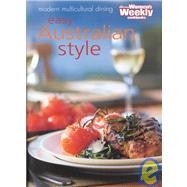 Easy Australian Style Cookbook