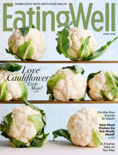 EatingWell Magazine, April 2019
