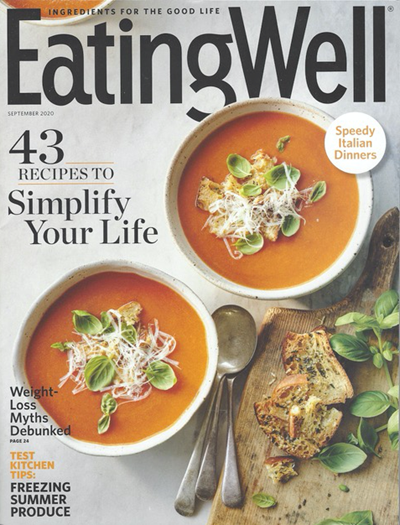 EatingWell Magazine, September 2020