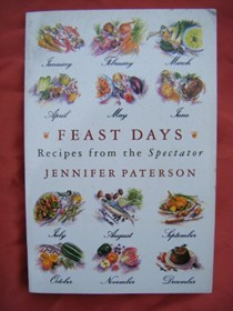 "Feast Days: Recipes from ""The Spectator"""