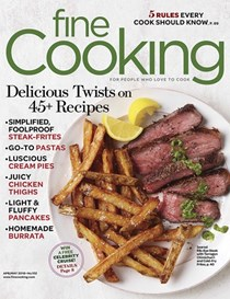 Fine Cooking Magazine, Apr/May 2018