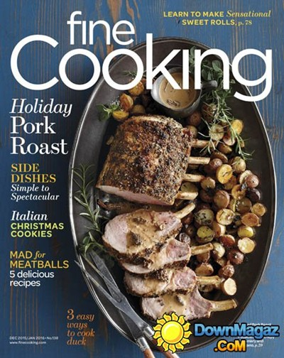 Fine Cooking Magazine, Dec 2015/Jan 2016