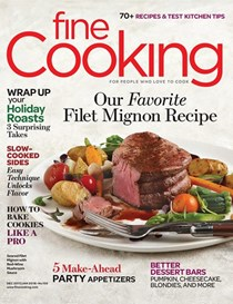 Fine Cooking Magazine, Dec 2017/Jan 2018