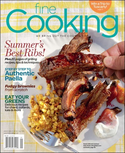 Fine Cooking Magazine, Jun/Jul 2010