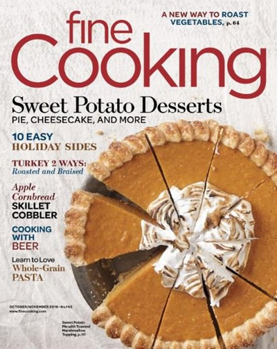 Fine Cooking Magazine, Oct/Nov 2016