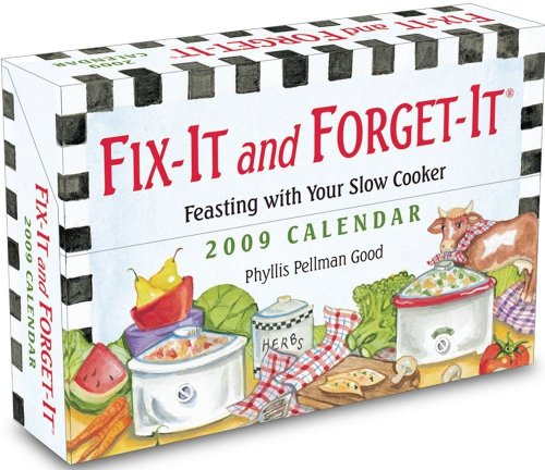 Fix-It and Forget-It Calendar: Feasting with Your Slow Cooker