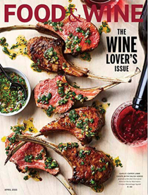 Food & Wine Magazine, April 2021: The Wine Lover's Issue