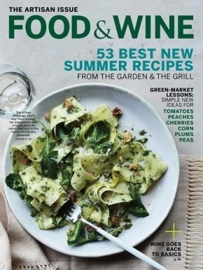 Food wine magazine august 2015 the artisan issue eat your books food wine magazine august 2015 the artisan issue forumfinder Choice Image