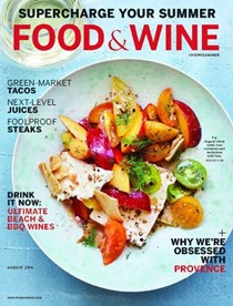 Food & Wine Magazine, August 2016