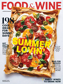 Food & Wine Magazine, August 2017