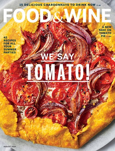 Food & Wine Magazine, August 2019