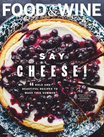 Food & Wine Magazine, August 2020