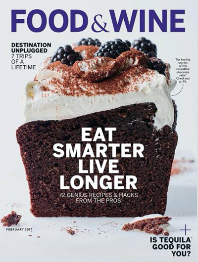 Food wine magazine february 2017 eat your books food wine magazine february 2017 forumfinder Choice Image