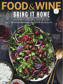Food & Wine Magazine, February 2019: The Home Issue