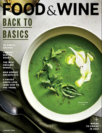 Food & Wine Magazine, January 2019