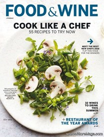 Food & Wine Magazine, July 2016: Best New Chefs 2016
