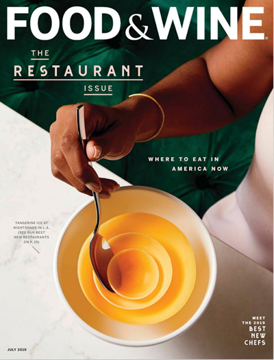 Food & Wine Magazine, July 2019: The Restaurant Issue/Best New Chefs