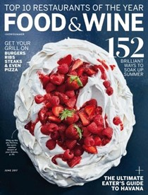 Food & Wine Magazine, June 2017