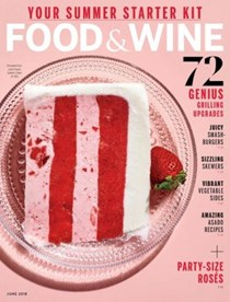 Food & Wine Magazine, June 2018