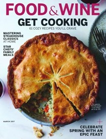 Food & Wine Magazine, March 2017