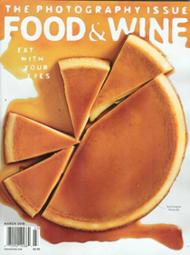 Food & Wine Magazine, March 2018: The Photography Issue