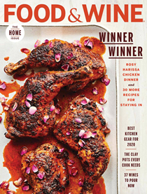Food & Wine Magazine, March 2020: The Home Issue