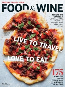 Food & Wine Magazine, May 2017: Special Travel Issue