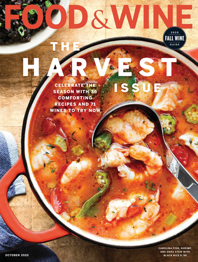 Food & Wine Magazine, October 2020: The Harvest Issue