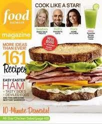 Food Network Magazine, April 2011