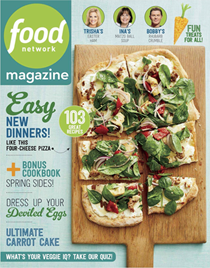 Food Network Magazine, April 2018